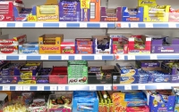 Assorted sweets on display at Radley Village Shop