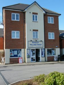 The exterior of Radley Village Shop in March 2011