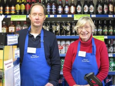 Shop volunteers
